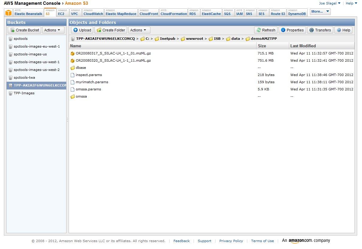 Image:AMZTPP S3 Console jpg - SPCTools